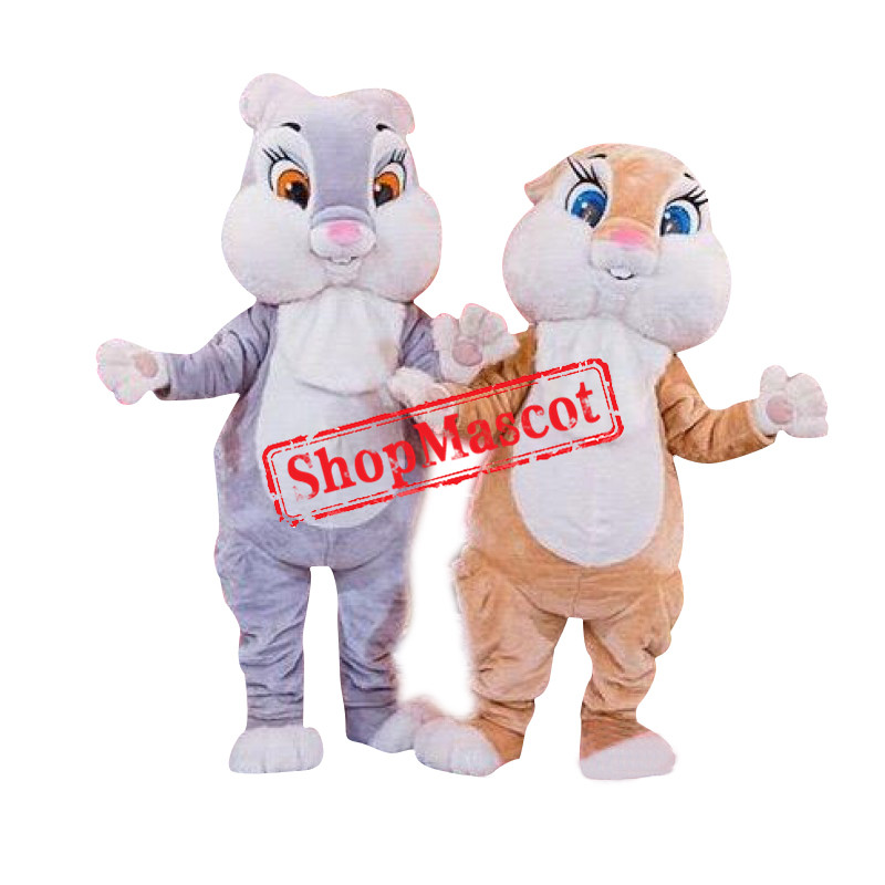 Bunny Rabbit Mascot Costume for Adult