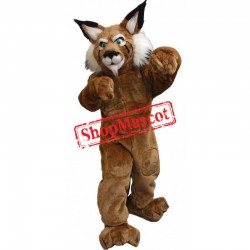 Power Bobcat Mascot Costumes