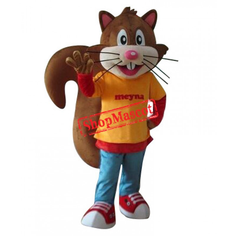 Cartoon Squirrel Mascot Costumes