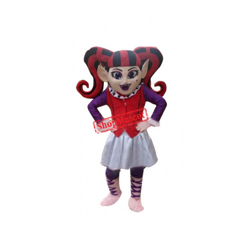 Clown Mascot Costume Halloween Mascot Costume