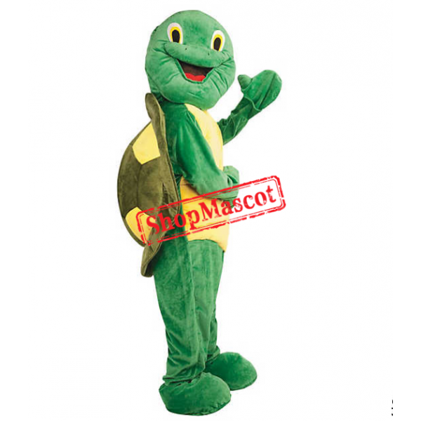 Deluxe Plush Turtle Mascot Costume