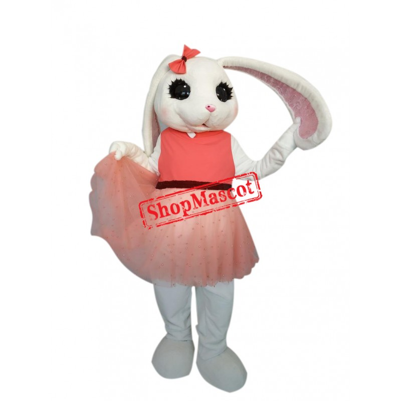 Beautiful Easter Bunny Mascot Costume