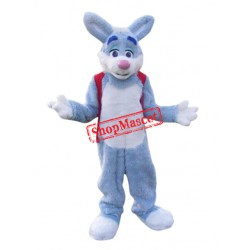 Animal Blue Easter Bunny Mascot Costume