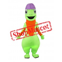 Happy Lightweight Lizard Mascot Costume