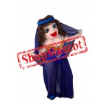 Dancing Beauty Mascot Costume