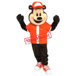 Sport School Bear Mascot Costume