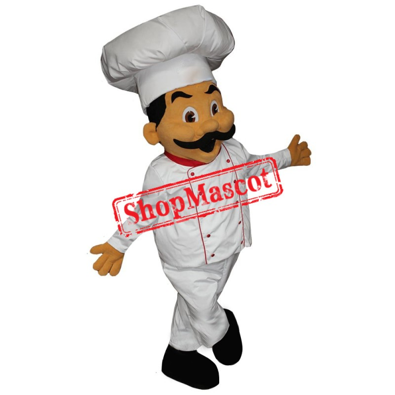 Happy Chef Mascot Costume