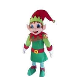 Elf Santa Claus Helper Mascot Costume