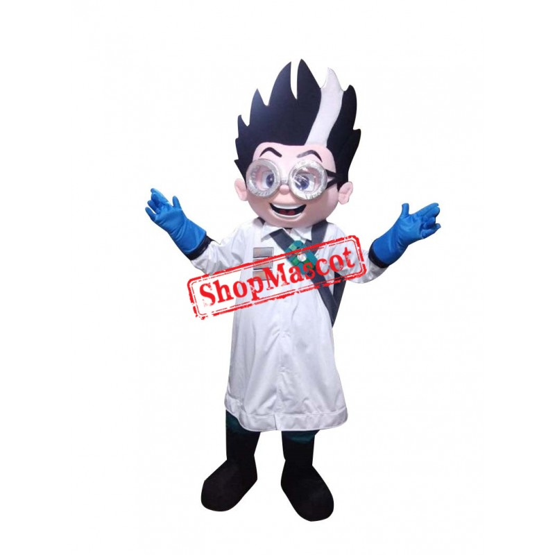 Romeo Scientist PJ Mascot Costume