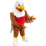 School Sport Eagle Mascot Costume