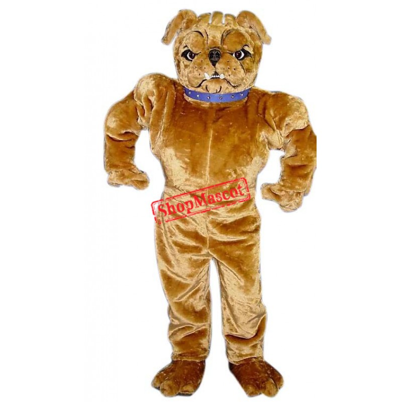 Fierce Power Bulldog Mascot Costume