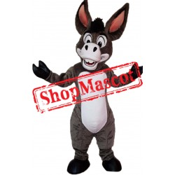 Happy Lightweight Donkey Mascot Costume