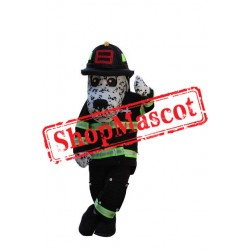 Fire Safety Dog Mascot Costume