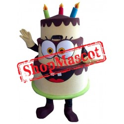 Happy Birthday Cake Mascot Costume