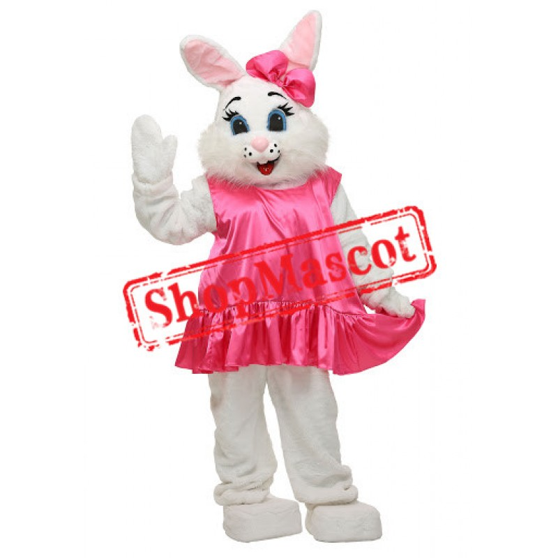 Adorable Easter Bunny Mascot Costume
