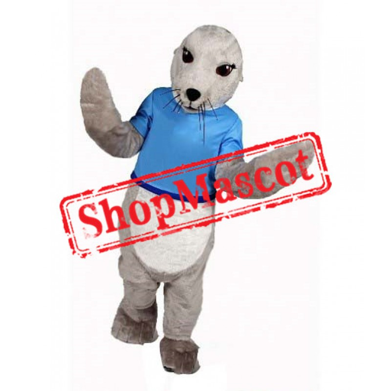 Super Cute Seal Mascot Costume
