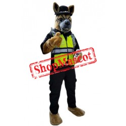 Top Quality Police Dog Mascot Costume