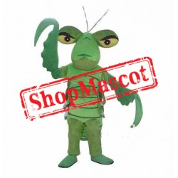 Green Mantis Mascot Costume
