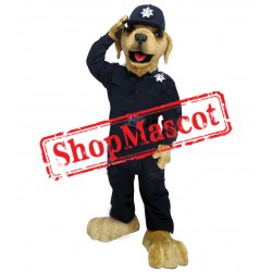 Best Quality Police Dog Mascot Costume