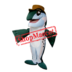 Trout Fish Mascot Costume