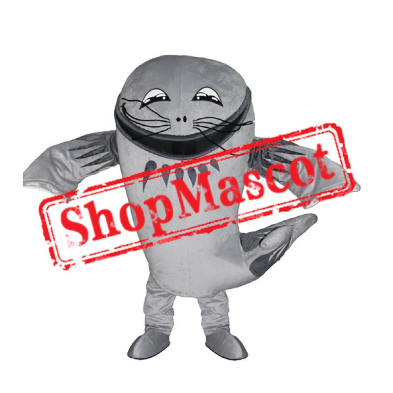Big Catfish Mascot Costume
