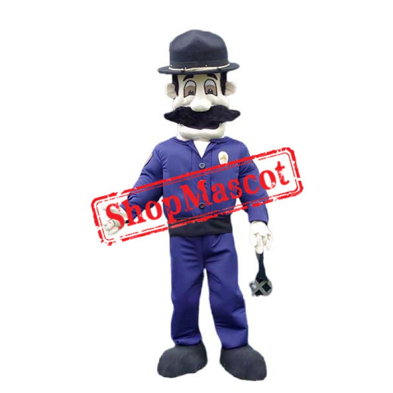 Police Chief Mascot Costume