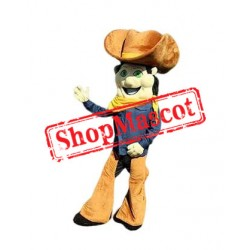 Happy Cowboy Mascot Costume Free Shipping