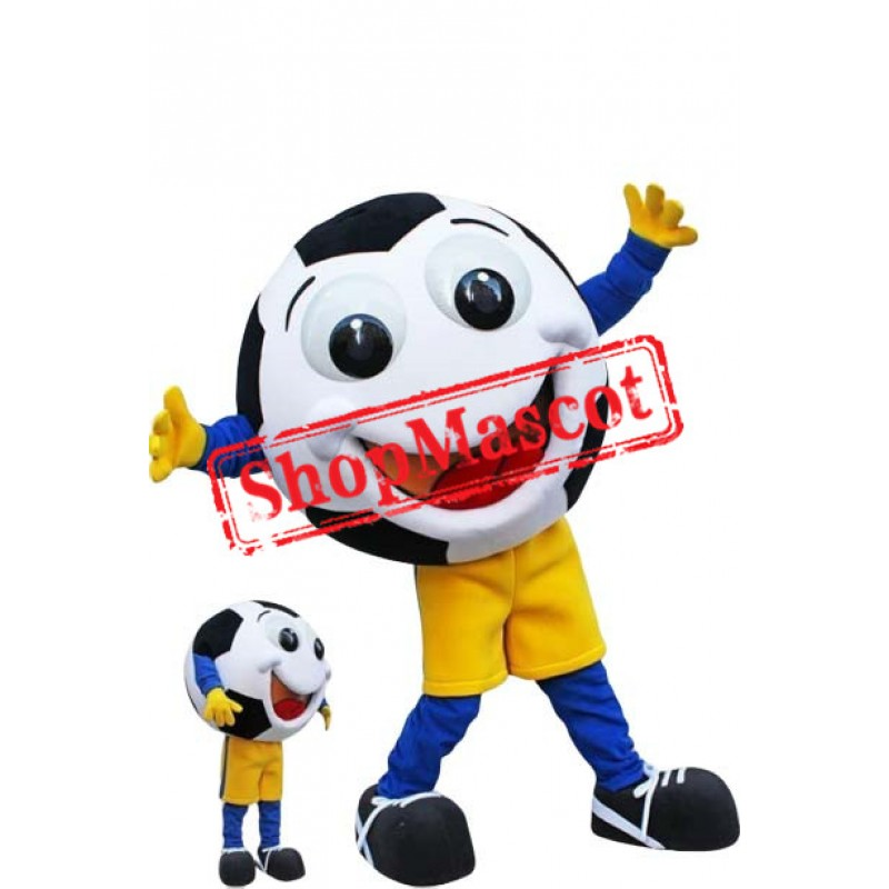 Happy Football Mascot Costume