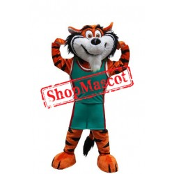 Sport School Tiger Mascot Costume