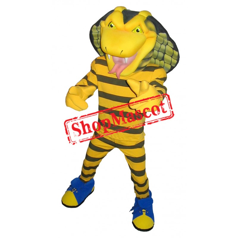 Top Quality Cobra Mascot Costume