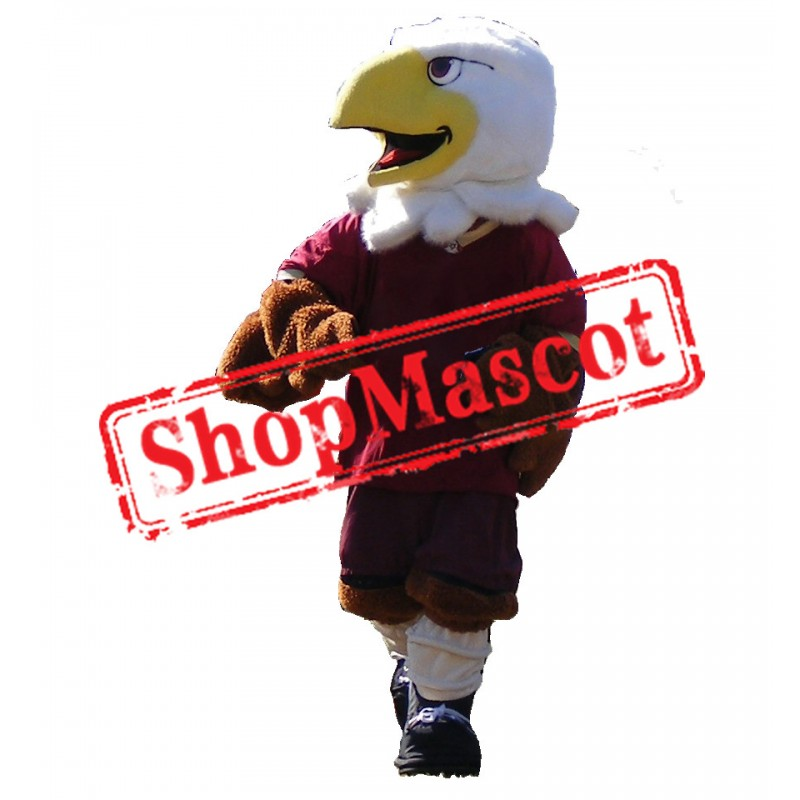 Sport School Eagle Mascot Costume