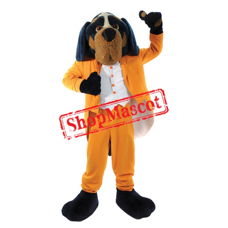 Handsome Dog Mascot Costume