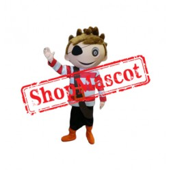 Boy Pirate Mascot Costume