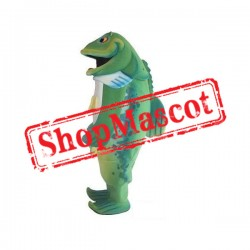 Top Quality Green Fish Mascot Costume