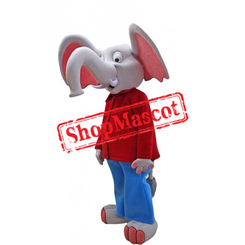 Big Ears Elephant Mascot Costume