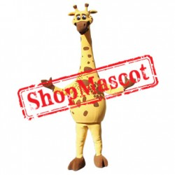 Top Quality Giraffe Mascot Costume Free Shipping