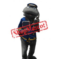 Captain Catfish Mascot Costume