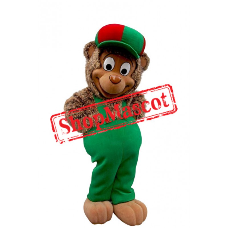 Happy School Monkey Mascot Costume