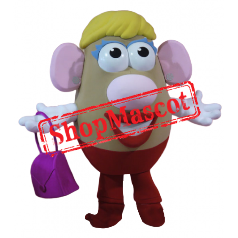 Mrs Potato Head Mascot Costume