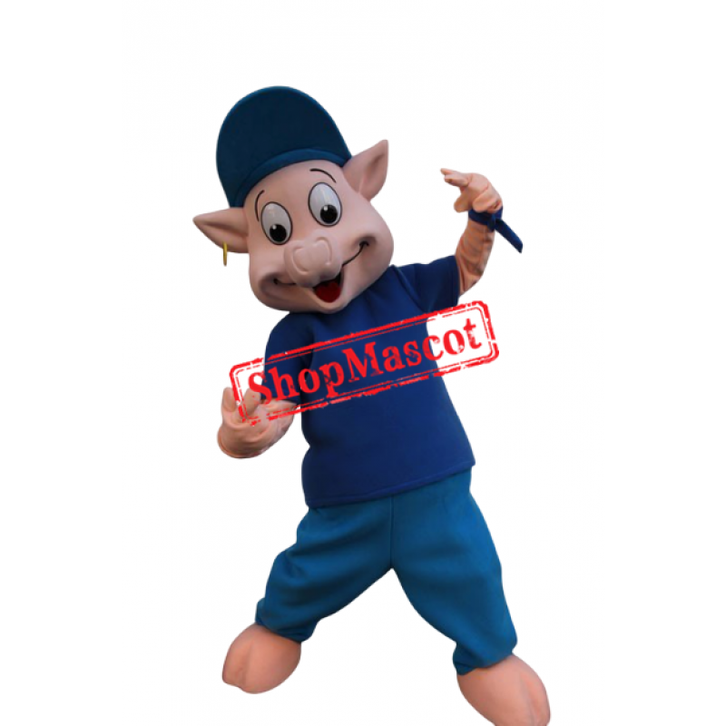 Young Pig Mascot Costume