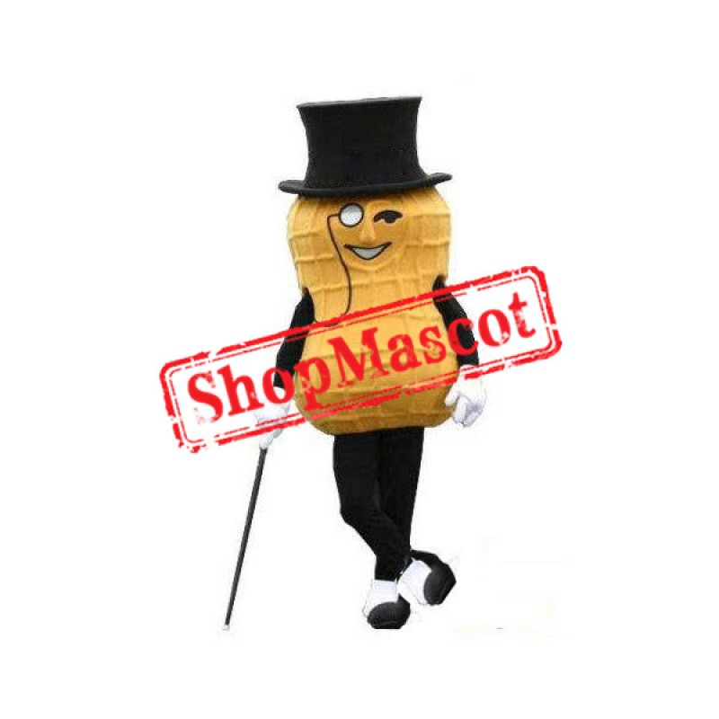 Mr. Peanut Mascot Costume