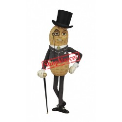 Handsome Mr. Peanut Mascot Costume