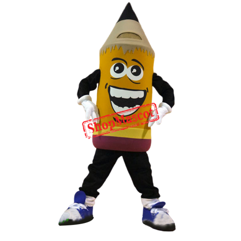 High Quality Pencil Mascot Costume