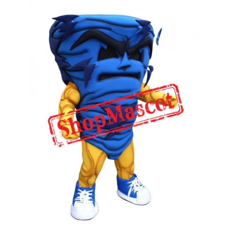 Power Storm Mascot Costume