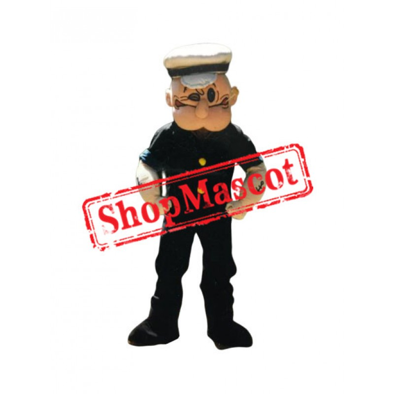 Top Quality Popeye Mascot Costume