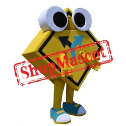 Road Sign Mascot Costume