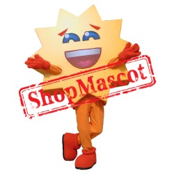 Happy Warm Sun Mascot Costume