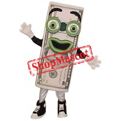 Dollar Bill Mascot Costume