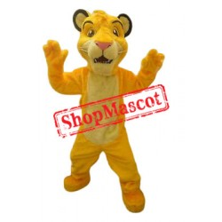 Simba Lion King Mascot Costume