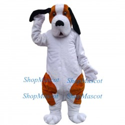 Cute Bernard Dog Mascot Costume